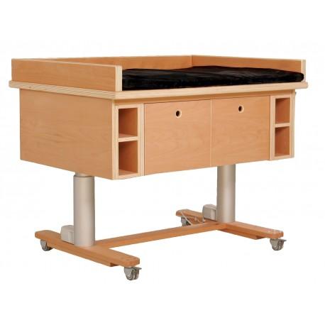 Table à langer électrique